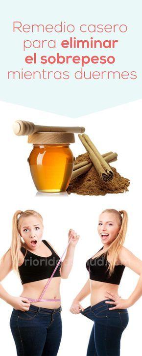 remedios caseros para perder peso mientras duermes