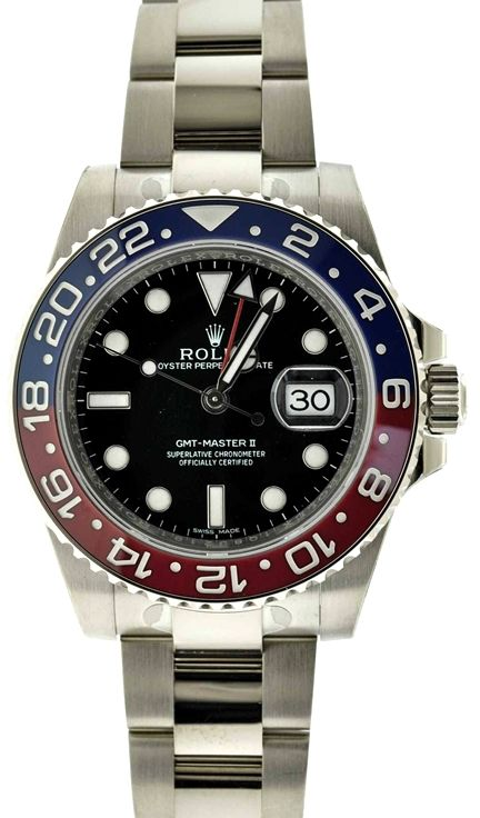 Rolex GMT Master II 116719 18k White Gold Watch
