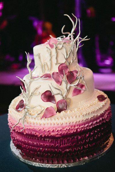 Purple Tree Branch Cake