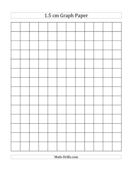 Cm Graph Paper With Black Lines A Size A Math Worksheet