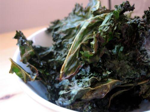 Low temps Kale chips