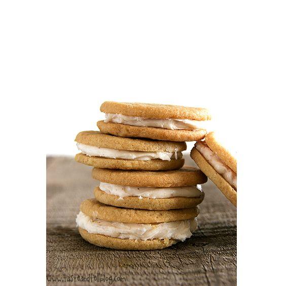 Caramel Creme Sandwich Cookies