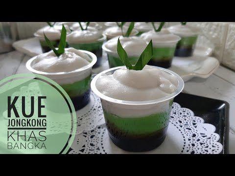 Kue Jongkong Khas Bangka Hanya Diaduk Tanpa Mixer Cocok Untuk Buka Puasa Youtube Makanan Cemilan Kue
