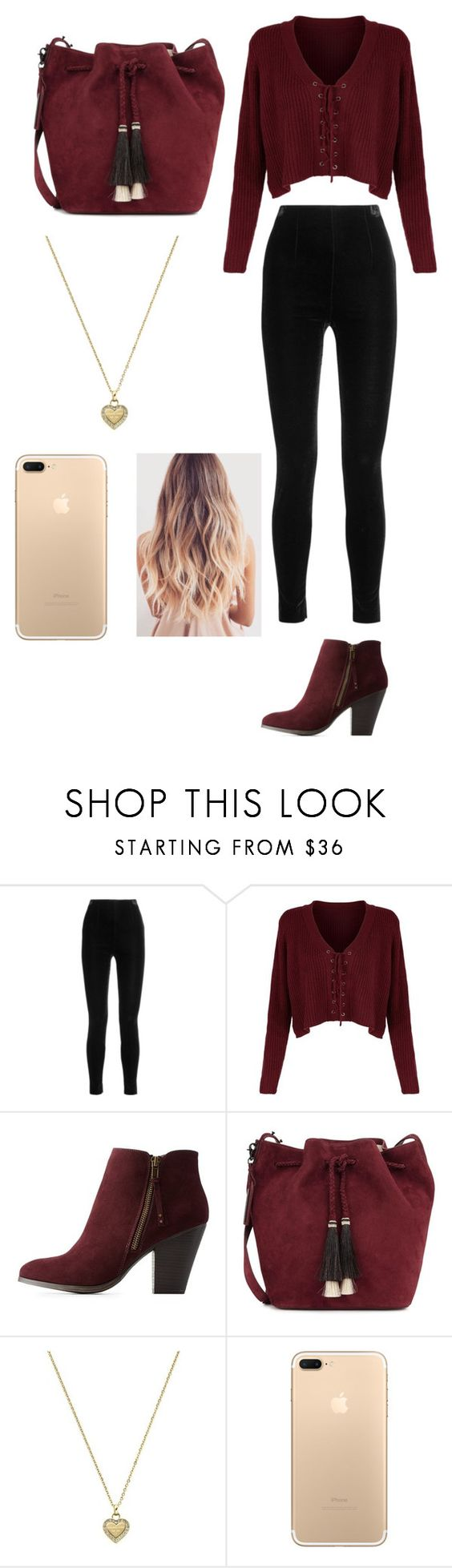 """Untitled #162"" by nashabriann ❤ liked on Polyvore featuring Balmain, Charlotte Russe, Loeffler Randall and Michael Kors"