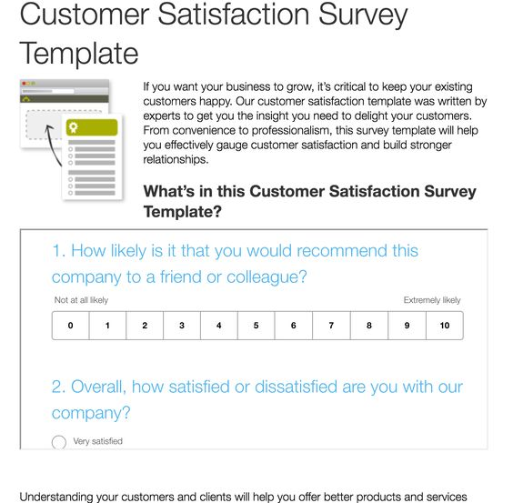 A Data-Driven Method for Finding Out Whether Your Content Sucks - customer satisfaction survey template