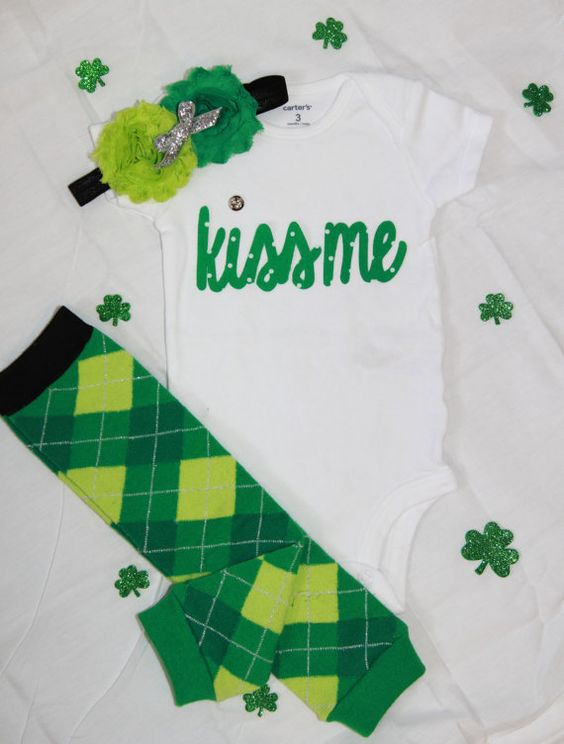 St. Patricks Outfit. Unisex. Little man. Little by LittleCutees
