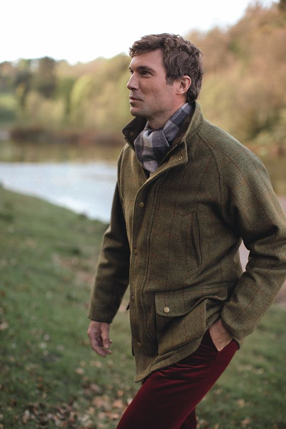 Harris Tweed Shooting Coat...coat optional...man a yes