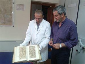 El Archivo Histórico de Cáceres muestra el 'Libro Becerro' para conmemorar el Día Internacional de los Archivos