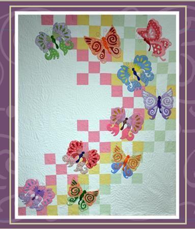 My Butterfly quilt pattern by Janeene Scott