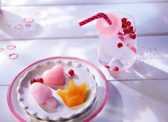 Silikon-Eiswürfelform Sommerparty  Selbstgemachte Eiswürfel in coolem Design.