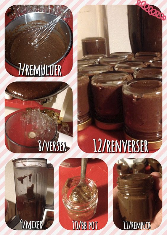 Idee Deco cadeau noel gourmand : Nutella, Noël and Pots on Pinterest