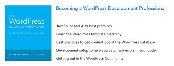 Becoming a WordPress Development Professional