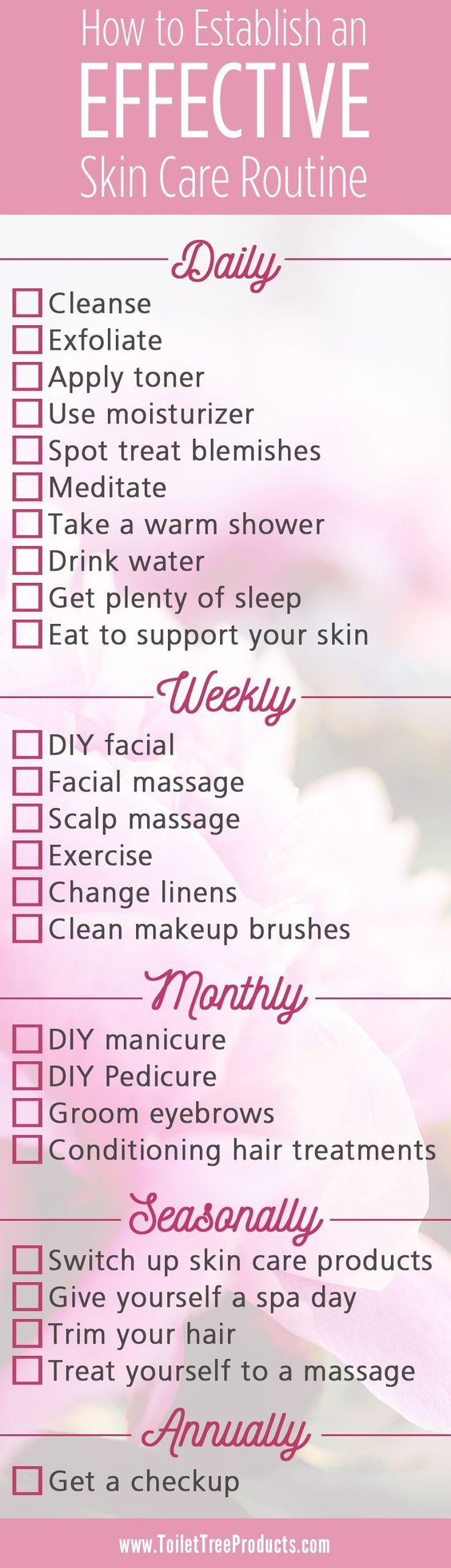Healthy habits and a comprehensive skin care routine will help you see the skin you've always wanted..   Find more stuff: skintightnaturals.com