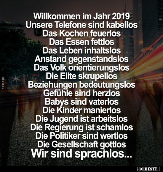 Willkommen Im Jahr 2019 Sprüche Merkel Und Zitate