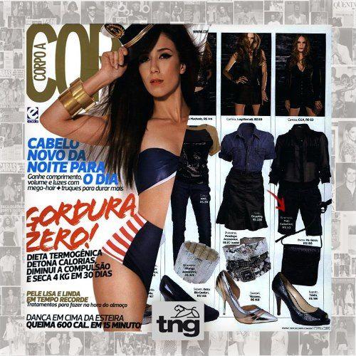 Bermuda da TNG na revista Revista Corpo a Corpo - OFICIAL ;)