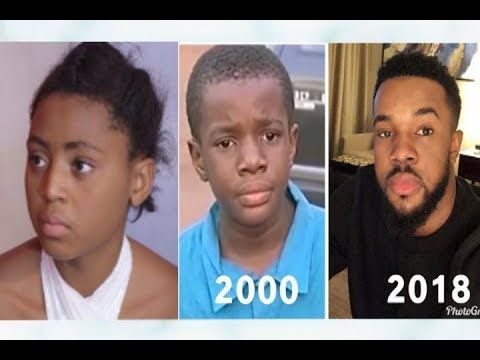 Top 4 Nollywood Kid Actors That Are Now Grown Up Actors Growing Up Kids