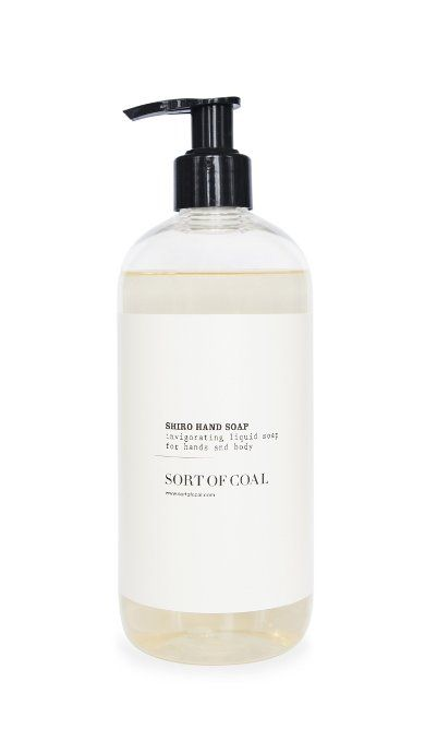 Sort of Coal - Activated White Charcoal Shiro Hand + Body Soap
