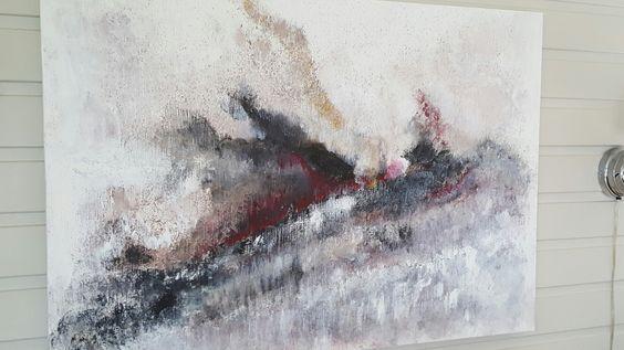 Abstrakt bilde 100x70