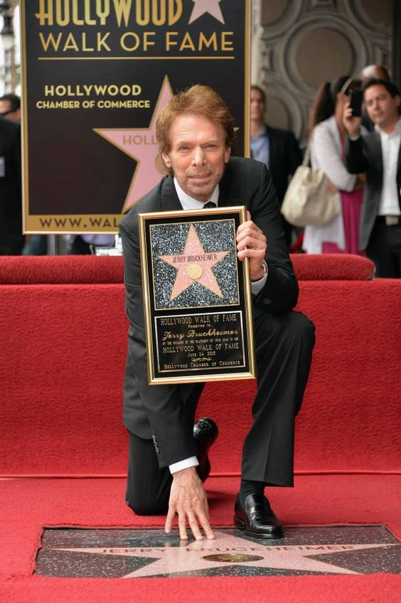 Jerry Bruckheimer finally receiving his well deserved star on the Hollywood Walk of Fame.