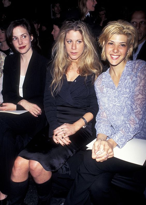 Here's What Fashion Week Looked Like in the '90s via @WhoWhatWear