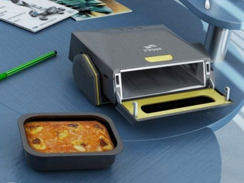 Desktop Microwave - I bet the fire marshal couldn't say anything about this! I'd be able to store this in my desk drawer!!
