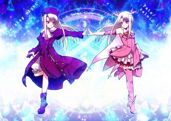 Illyasviel von Einzbern fate/stay night & Illyasviel Von Einzbern Fate/Kaleid liner Prisma Illya