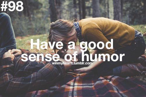 Você tem um bom senso de humor