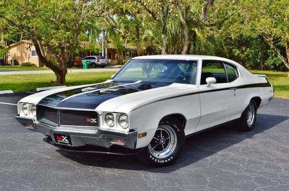 1970 Buick Skylark REAL GSX V8 STAGE 1 455,1 of only 187 white GSX's ever built.http://bit.ly/usamusclecars
