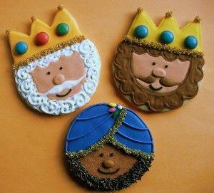 galletas reyes magos, comida navidad divertida