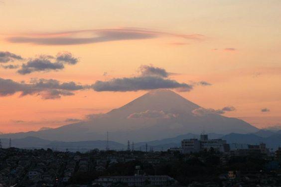 Mt.fuji : from Yokohama city