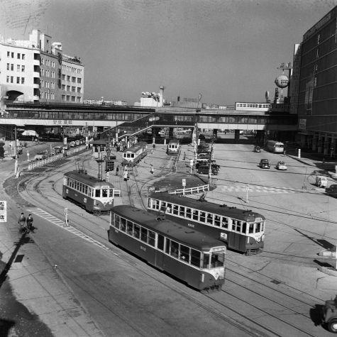 1958年(昭和33年) 渋谷 | 鉄道 写真, 古写真, 渋谷