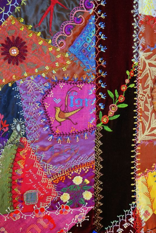 Crazy Quilt | I realised that I haven't added many of these … | Flickr - Photo Sharing!