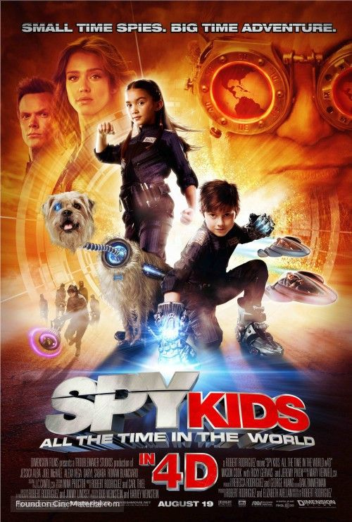 Spy+Kids:+All+the+Time+in+the+World+in+4D+movie+poster