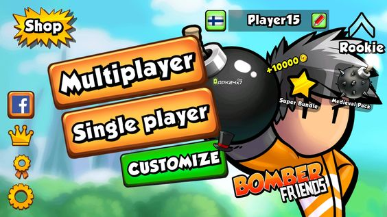 Bomber Friends Mod Apk Unlimited Money Download For Android