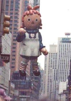 1984 Macy's Thanksgiving Day Parade ~ Raggedy Ann Balloon #TakeMeToTheParadeSweepstakes
