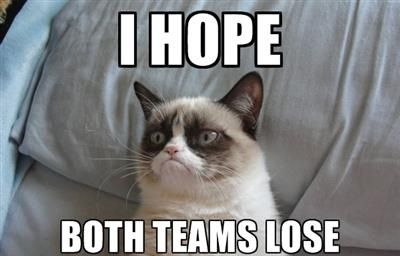 "Grumpy Cat Humor | NBA Playoffs | Grumpy Cat's take on the first game of the NBA playoffs | ""I hope both teams lose! 
