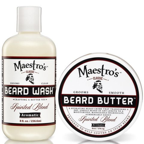 Spirited Blend Set Beard Wash Beard Butter