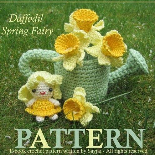 From Amigurumi Crochet Patterns by K & J Dolls