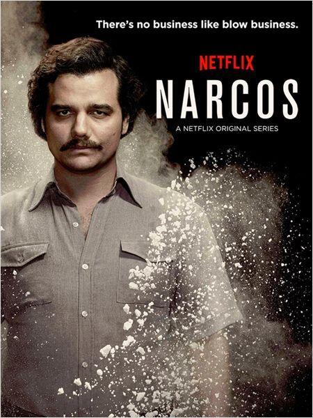 Narcos. Narcos é a história real dos esforços dos Estados Unidos e Colômbia para combater o temido traficante Pablo Escobar (interpretado pelo ator Wagner Moura, de Tropa de Elite) e o cartel de Medellín, uma das organizações criminosas mais ricas e impiedosas da história.