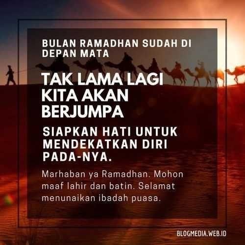 Gambar Kata Kata Indah Di Bulan Ramadhan Di 2020 Dengan Gambar