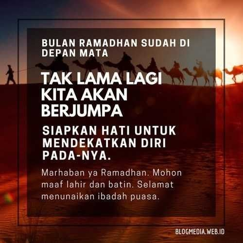 Gambar Kata Kata Ramadhan Tiba Di 2020 Dengan Gambar Lucu