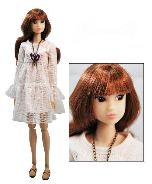 Fashion Lace Doll Dress Doll Skirt/Momoko Clothes/Blythe Dress/Jenny Doll Dress