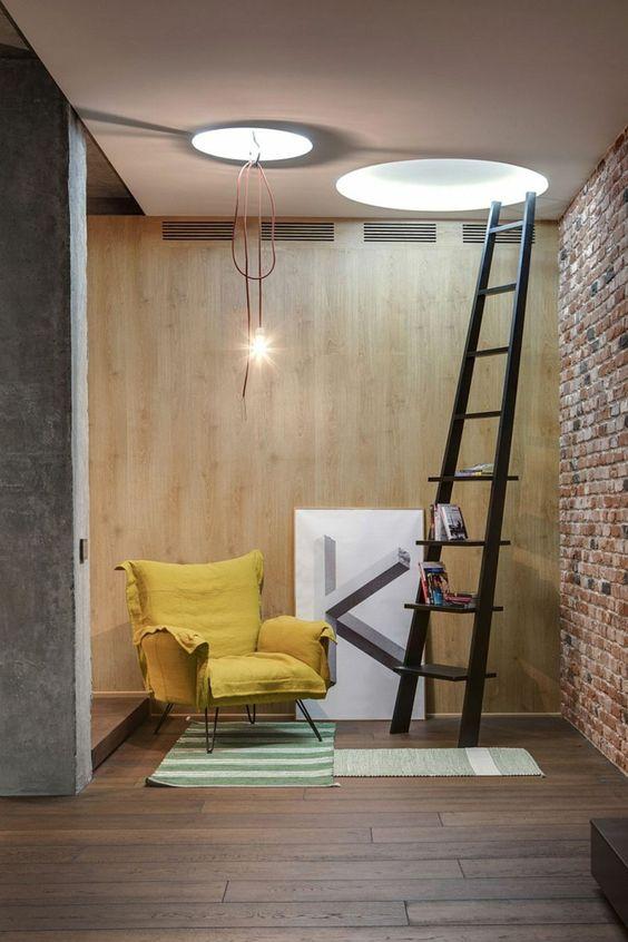 farbgestaltung wohnzimmer wandgestaltung wanddesign orange braun - wanddesign