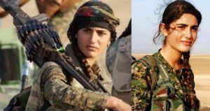 La joven de las fuerzas militares kurdas Asia Ramazan Amtar, conocida…