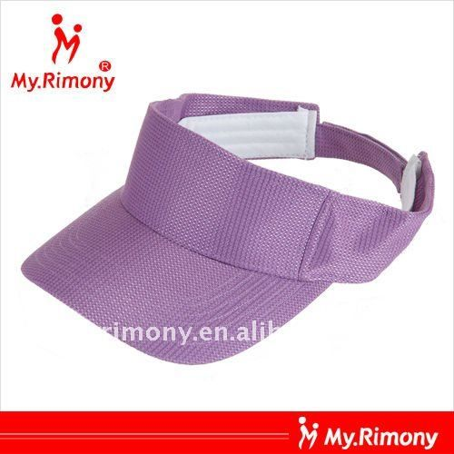 custom high quality tennis cap and sun visor wholesale
