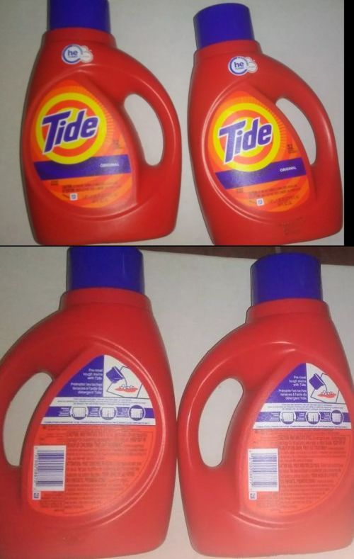 Detergents 78691 Tide He Liquid Laundry Detergent Original 50 Oz