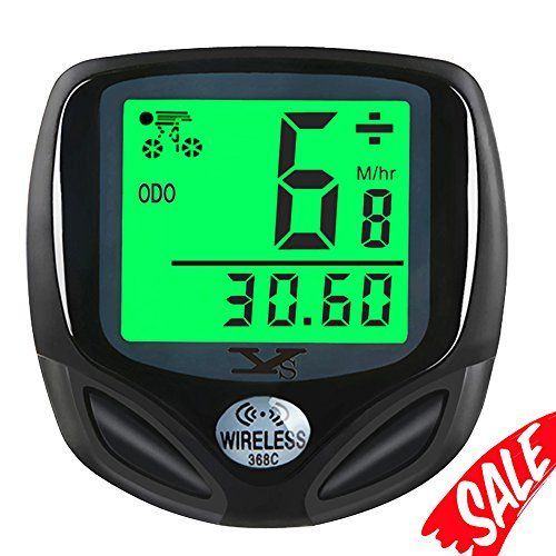 Bike Speedometer Waterproof Wireless Bicycle Bike Computer With