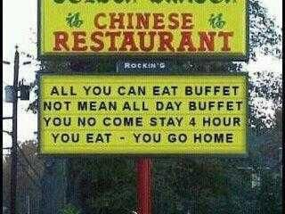 Buffet - - clarification