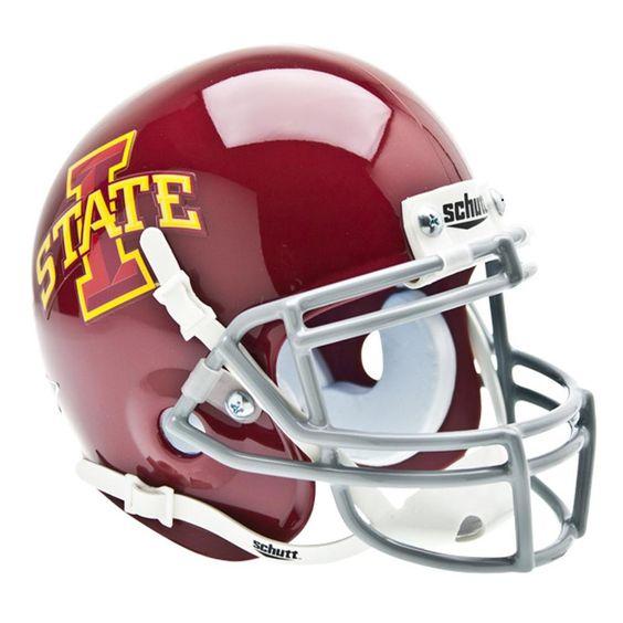 Iowa State Cyclones NCAA Authentic Mini 1-4 Size Helmet