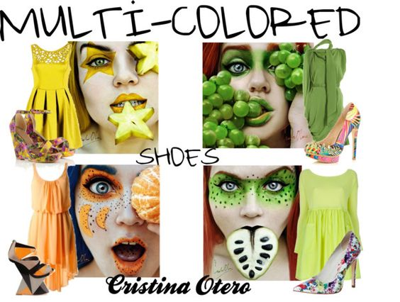 Multicolored Shoes to Go please!, created by shaley1 on Polyvore